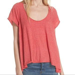 Women's Nori Tee Red Size Large